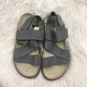 NWOT Zara Girls Dream Big Velcro Strap Sandals